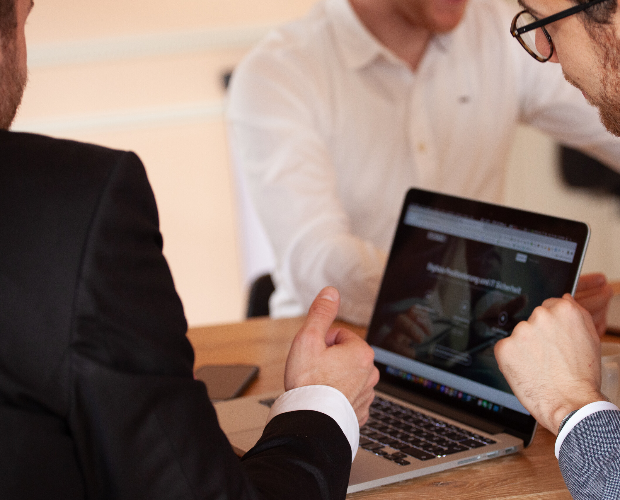 Arbeitsgespräch Website Erstellung